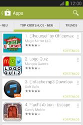 Samsung Galaxy Fame Lite - Apps - Installieren von Apps - Schritt 11