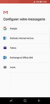 Samsung Galaxy S8 - E-mails - Ajouter ou modifier votre compte Gmail - Étape 8
