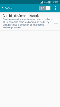 Samsung N910F Galaxy Note 4 - WiFi - Conectarse a una red WiFi - Paso 5