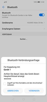 Huawei Mate 20 Lite - Bluetooth - Geräte koppeln - Schritt 9