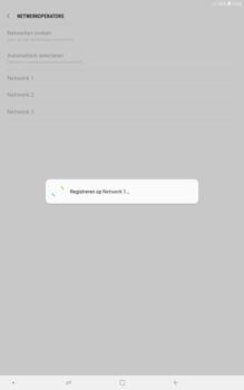 Samsung galaxy-tab-a-10-5-sm-t595 - Netwerk selecteren - Handmatig een netwerk selecteren - Stap 11