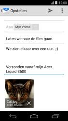 Acer Liquid E600 - E-mail - E-mails verzenden - Stap 15