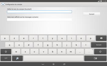 Sony Xperia Tablet Z2 LTE - E-mail - configuration manuelle - Étape 17