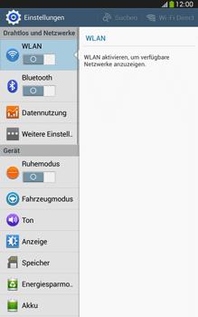 Samsung Galaxy Tab 3 8-0 LTE - WiFi - WiFi-Konfiguration - Schritt 4