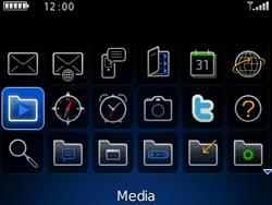 BlackBerry 9300 Curve 3G - contacten, foto