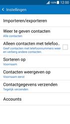 Samsung Galaxy Grand Prime VE (SM-G531F) - Contacten en data - Contacten kopiëren van toestel naar SIM - Stap 7