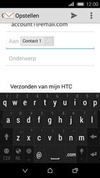 HTC Desire 320 - E-mail - E-mails verzenden - Stap 9