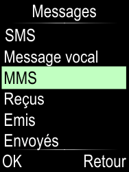 Doro Phone Easy 612 - Contact, Appels, SMS/MMS - Envoyer un MMS - Étape 4