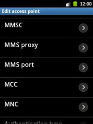 Samsung S5300 Galaxy Pocket - MMS - Manual configuration - Step 11