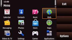 Nokia N97 Mini - Internet - Internet browsing - Step 2