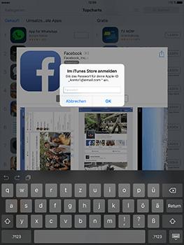 Apple iPad Mini 4 - Apps - Konto anlegen und einrichten - 33 / 35
