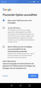 Huawei P20 Lite - Apps - Konto anlegen und einrichten - 13 / 18