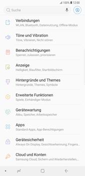 Samsung Galaxy S9 Plus - Internet und Datenroaming - Prüfen, ob Datenkonnektivität aktiviert ist - Schritt 4