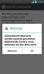 LG P710 Optimus L7 II - Fehlerbehebung - Handy zurücksetzen - Schritt 10