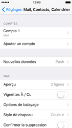 Apple iPhone 5s iOS 9 - E-mail - configuration manuelle - Étape 18