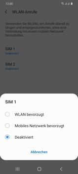 Samsung Galaxy S20 5G - WiFi - WiFi Calling aktivieren - Schritt 8
