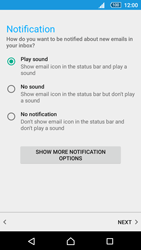 Sony Xperia Z5 - E-mail - manual configuration - Step 20