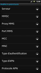Sony LT22i Xperia P - Internet - Configuration manuelle - Étape 13
