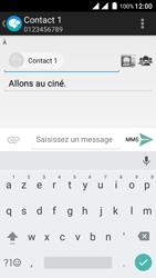 Wiko Freddy - Contact, Appels, SMS/MMS - Envoyer un MMS - Étape 11