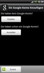 HTC A8181 Desire - Apps - Konto anlegen und einrichten - Schritt 5
