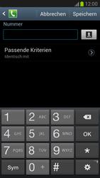 Samsung N7100 Galaxy Note 2 - Anrufe - Anrufe blockieren - Schritt 8