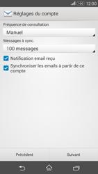 Sony Xperia E4g - E-mails - Ajouter ou modifier un compte e-mail - Étape 17