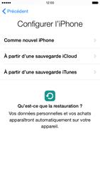 Apple iPhone 6 iOS 8 - Premiers pas - Créer un compte - Étape 12