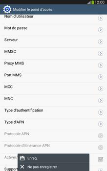 Samsung Galaxy Tab 3 8-0 LTE - Internet et roaming de données - Configuration manuelle - Étape 16