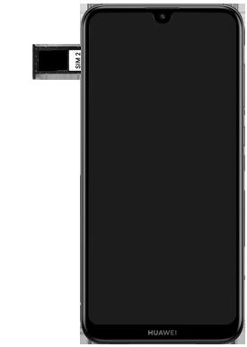 Huawei Y7 (2019) - Appareil - Insérer une carte SIM - Étape 7