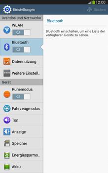 Samsung Galaxy Tab 3 8-0 LTE - Bluetooth - Geräte koppeln - 0 / 0