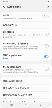 Samsung Galaxy Note9 - Android Pie - Réseau - Sélection manuelle du réseau - Étape 5