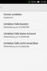 Alcatel OT-4009D Pixi 3 (3.5) - Anrufe - Rufumleitungen setzen und löschen - Schritt 7