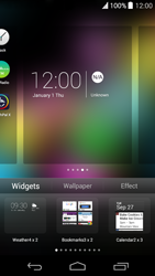 Wiko Highway Pure - Getting started - Installing widgets and applications on your start screen - Step 6
