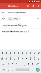Nokia 3 - Android Oreo - E-mail - E-mails verzenden - Stap 9
