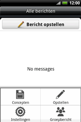 HTC A510e Wildfire S - SMS - Handmatig instellen - Stap 5
