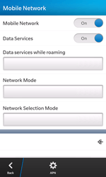BlackBerry Z10 - Internet and data roaming - Disabling data roaming - Step 6