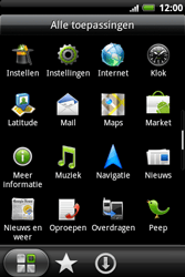 HTC A510e Wildfire S - Internet - buitenland - Stap 3