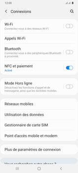 Samsung Galaxy A31 - Internet et connexion - Désactiver la connexion Internet - Étape 5