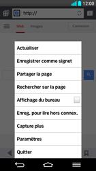LG G2 - Internet et connexion - Naviguer sur internet - Étape 7