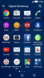 Sony Xperia M4 Aqua - Internet - Manuelle Konfiguration - 0 / 0