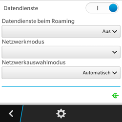 BlackBerry Q5 - Ausland - Auslandskosten vermeiden - 10 / 10
