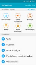Samsung G920F Galaxy S6 - Wi-Fi - Accéder au réseau Wi-Fi - Étape 4