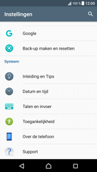 Sony Xperia XZ (F8331) - Android Nougat - Toestel - Software updaten - Stap 5