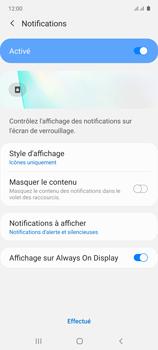 Samsung Galaxy Note 10 Lite - Sécuriser votre mobile - Activer le code de verrouillage - Étape 11