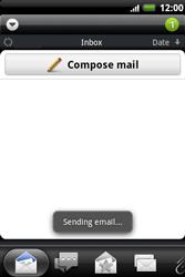 HTC A510e Wildfire S - E-mail - Sending emails - Step 13