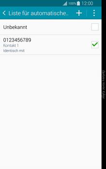 Samsung N915FY Galaxy Note Edge - Anrufe - Anrufe blockieren - Schritt 13
