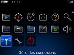 BlackBerry curve 3G - Internet et connexion - Accéder au réseau Wi-Fi - Étape 3