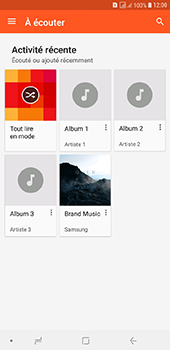Samsung Galaxy J6 Plus - Photos, vidéos, musique - Ecouter de la musique - Étape 6