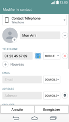 LG D855 G3 - Contact, Appels, SMS/MMS - Ajouter un contact - Étape 9