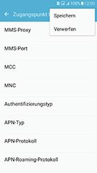 Samsung Galaxy J5 (2016) DualSim - MMS - Manuelle Konfiguration - 2 / 2